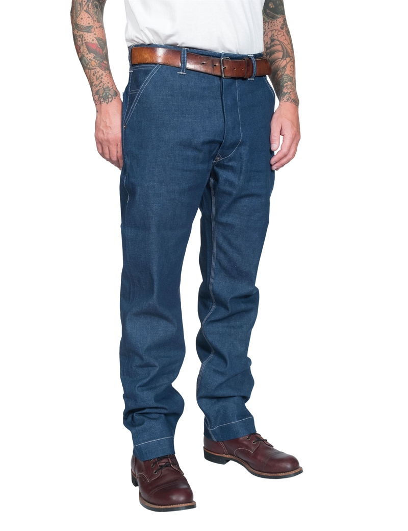 Blue Blanket - P33 Worker Denim Pants - 11 oz