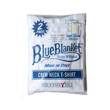 Blue Blanket - Two Pack T-shirt - White