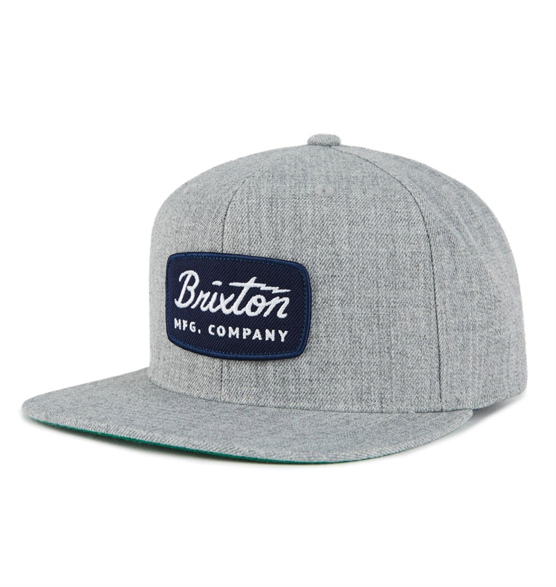 74515d6f911 ... mfg hat 7b8ee cc8ae promo code for brixton jolt snapback cap heather  grey ca7a1 4f107 ...