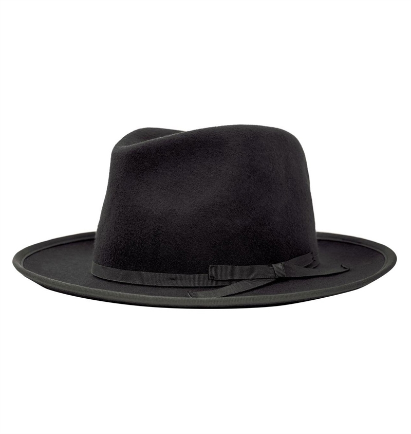 939042a9b Brixton - Manhattan Fedora Hat - Black