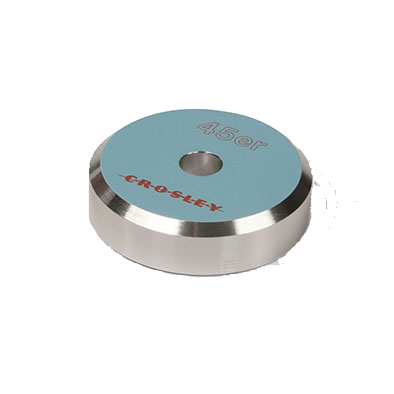 Crosley - 45 RPM Adapter - Turquoise