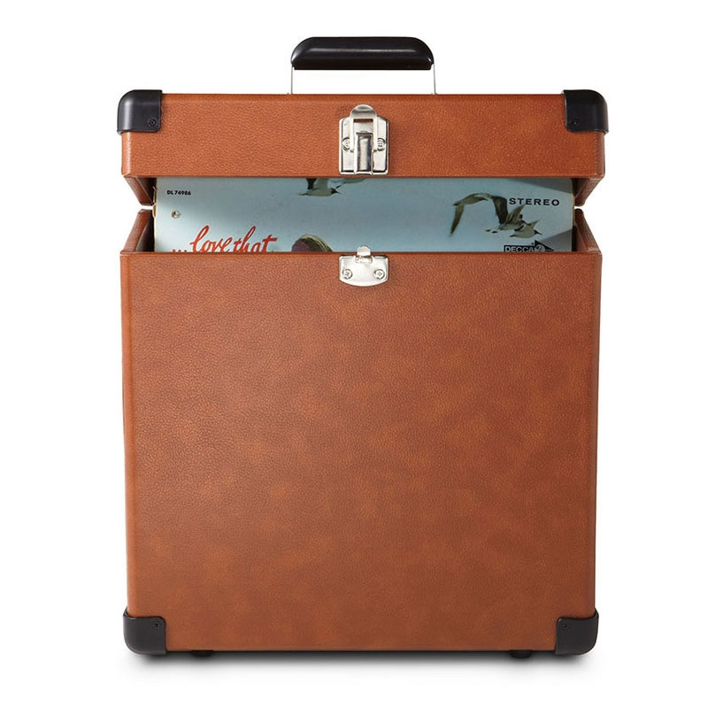 Crosley - Vinyl Carrier Case - Tan