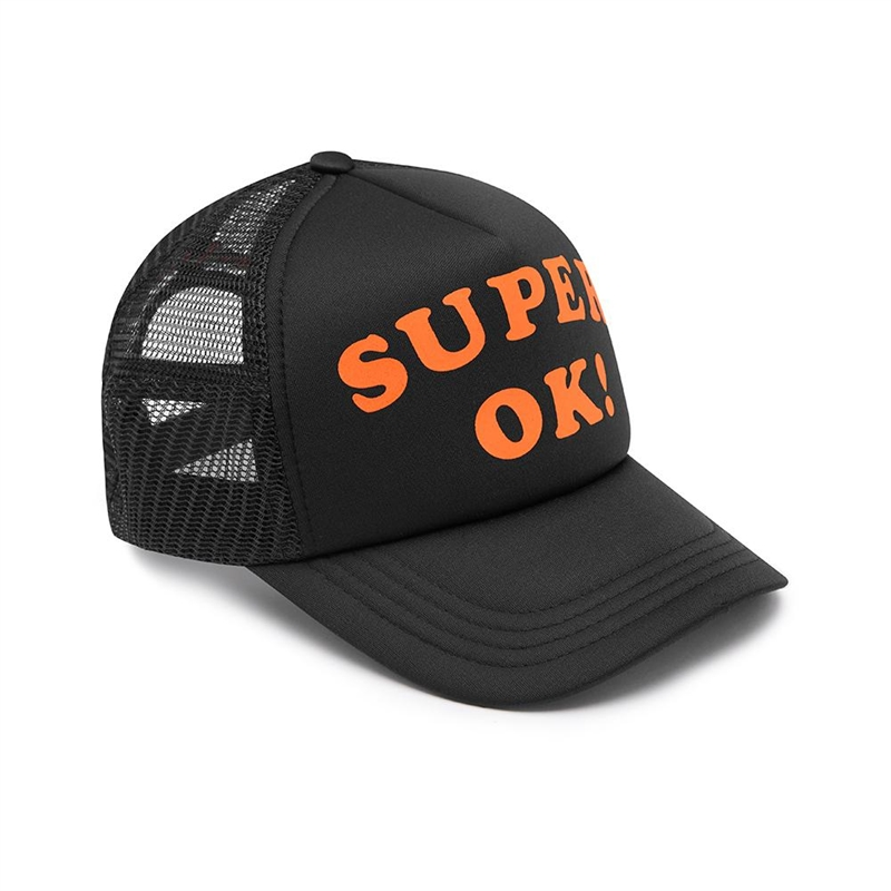 Deus - Super OK Trucker Cap - Black