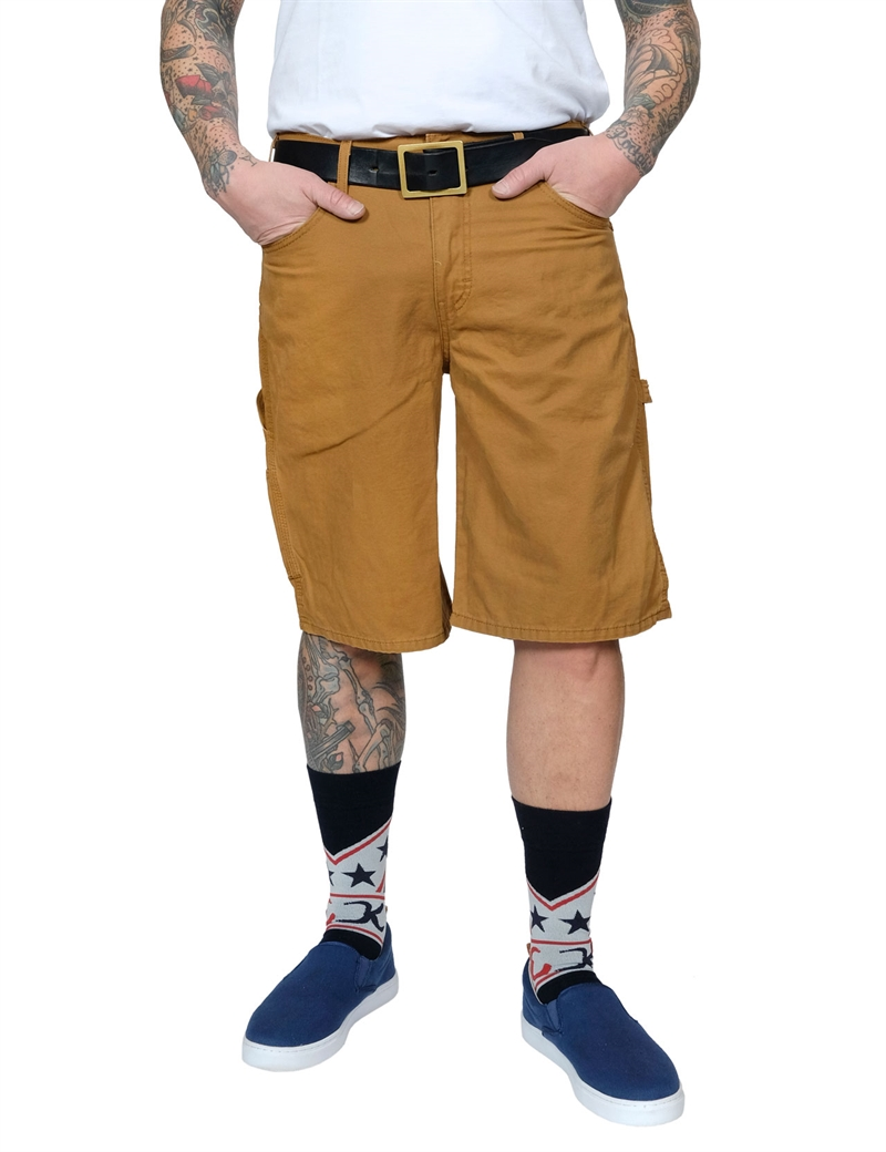 Dickies - 11´ Lightweight Duck Carpenter Short - Rinsed Brown