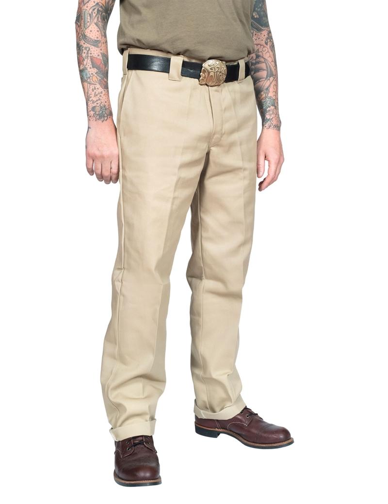 Dickies 873 Slim Straight Regular Waist Work Pant Khaki