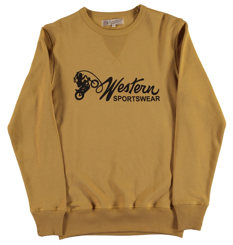 Eat Dust - Western Sportswear Heavy Sweater - Yellow