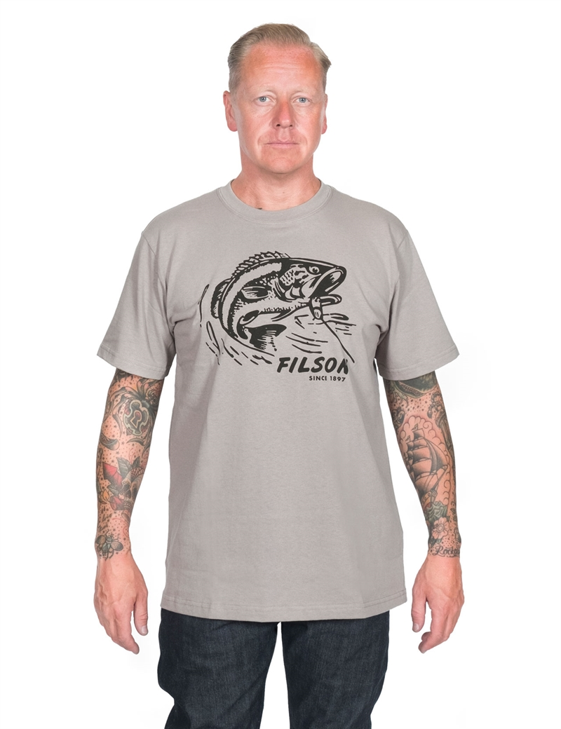 Filson - Outfitter Graphic T-Shirt - Steeple Gray