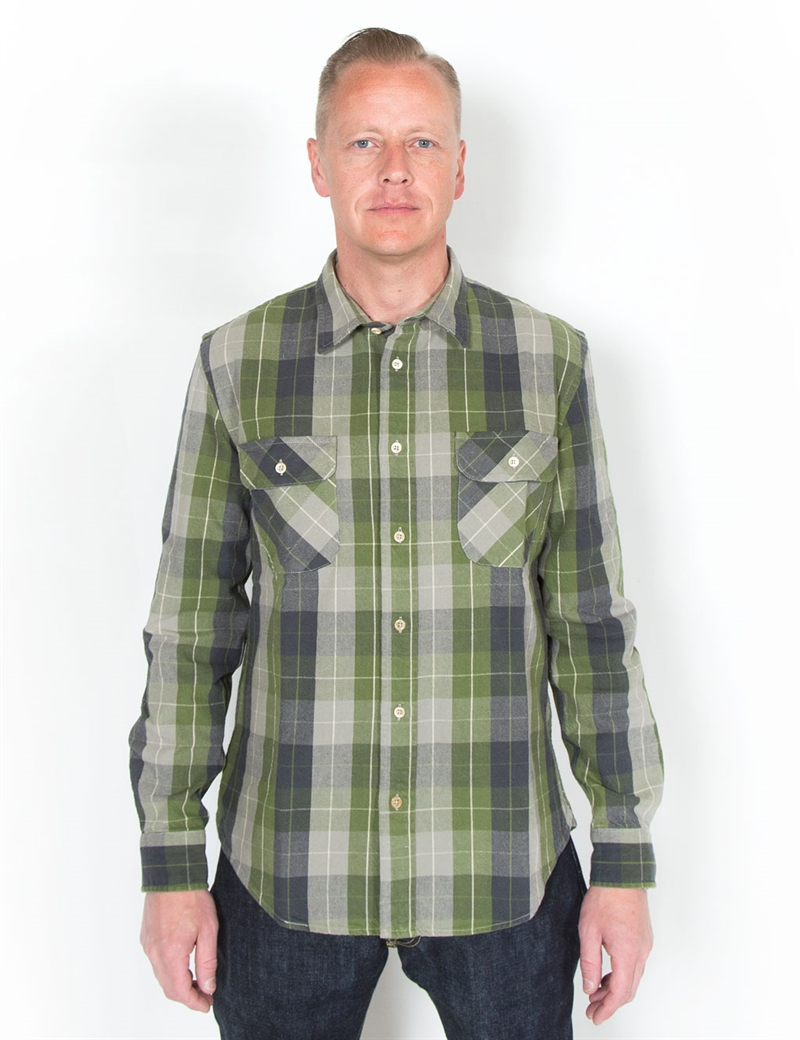 LEVIS_VINTAGE_1950s-Shorthorn-Shirt---Pea-Green-12