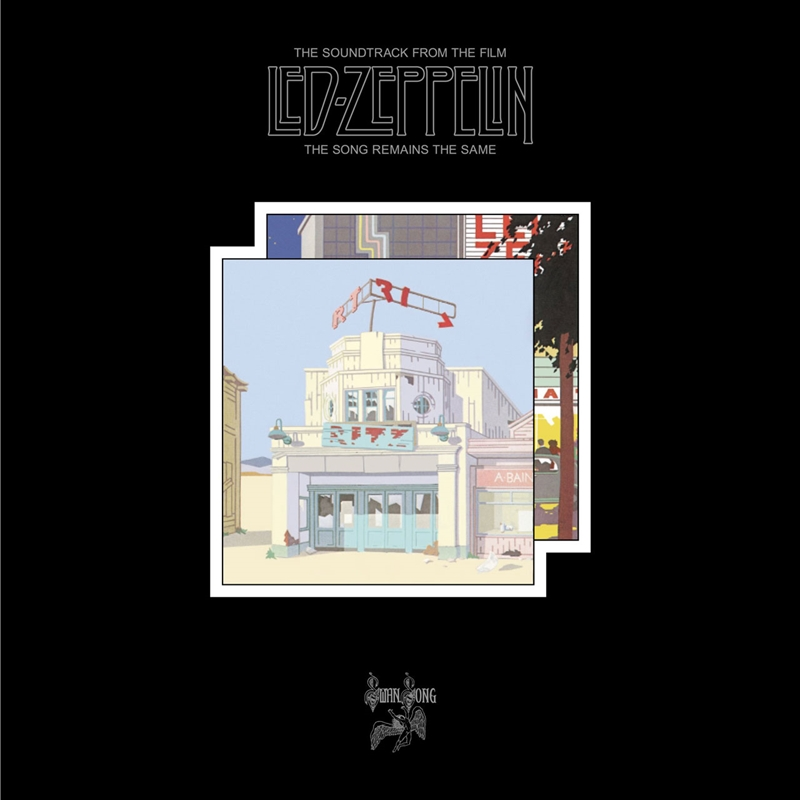 Led Zeppelin - The Song Remains The Same (Deluxe Box) - CD/DVD/LP