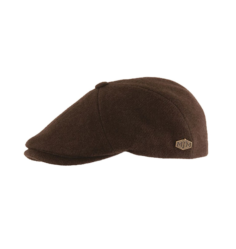 MJM Hats - Rebel Sixpence 100 % Yak Ecologic - Brown