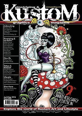 Pinstriping & Kustom Graphics Magazine # 055
