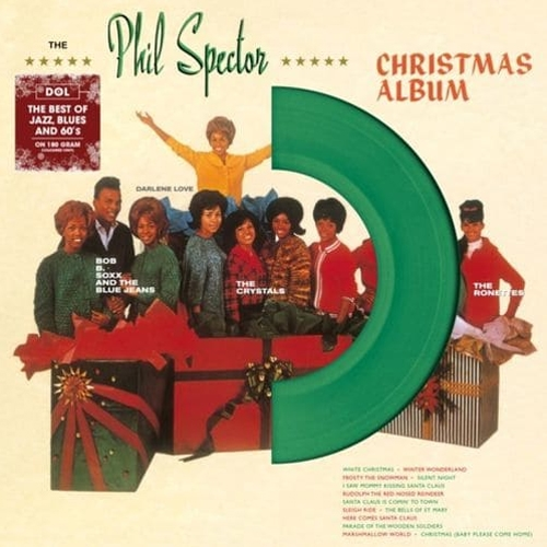 A Christmas Gift For You From Phil Spector.Phil Spector A Christmas Gift For You 180g Green Vinyl Lp