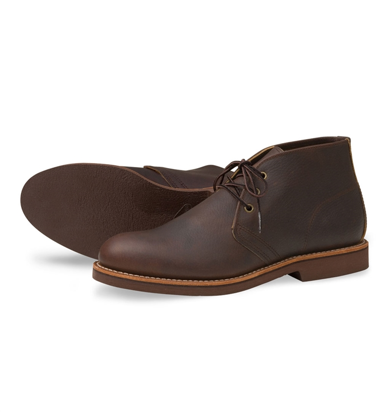 74202519586 Red Wing Shoes Style No. 9215 Foreman Chukka - Briar Oil Slick