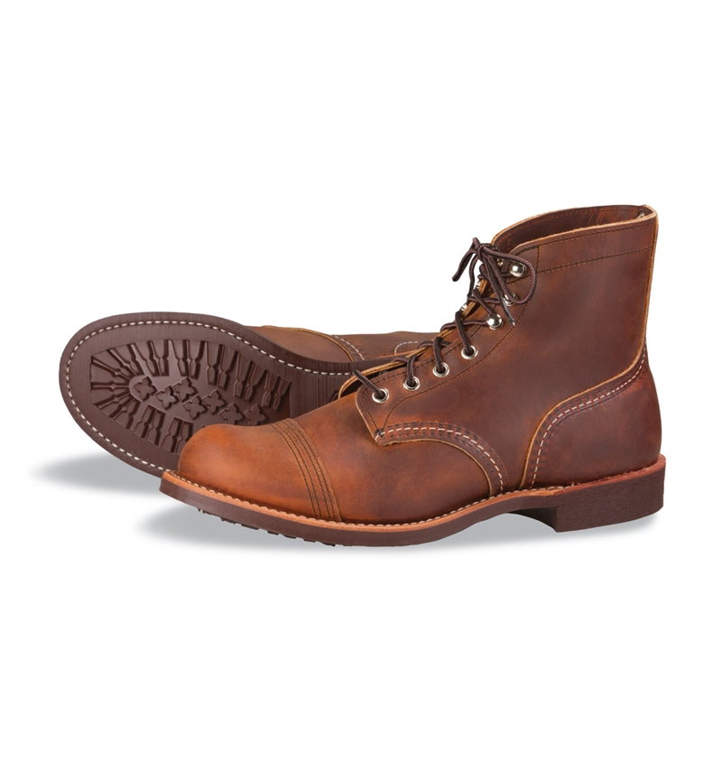 Red Wing Shoes 8085 Iron Ranger - Copper Rough & Tough Leather