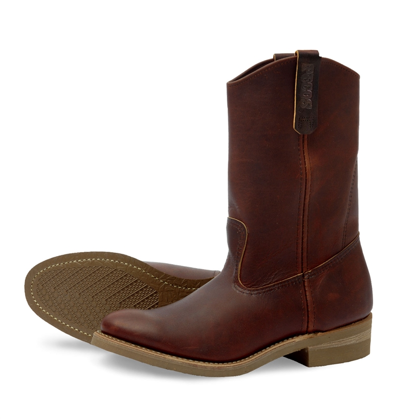Red Wing Shoes 8159 Pecos Amber Harness Leather