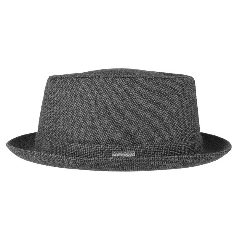 529286b17 Stetson - Athens Pork Pie Wool - Grey