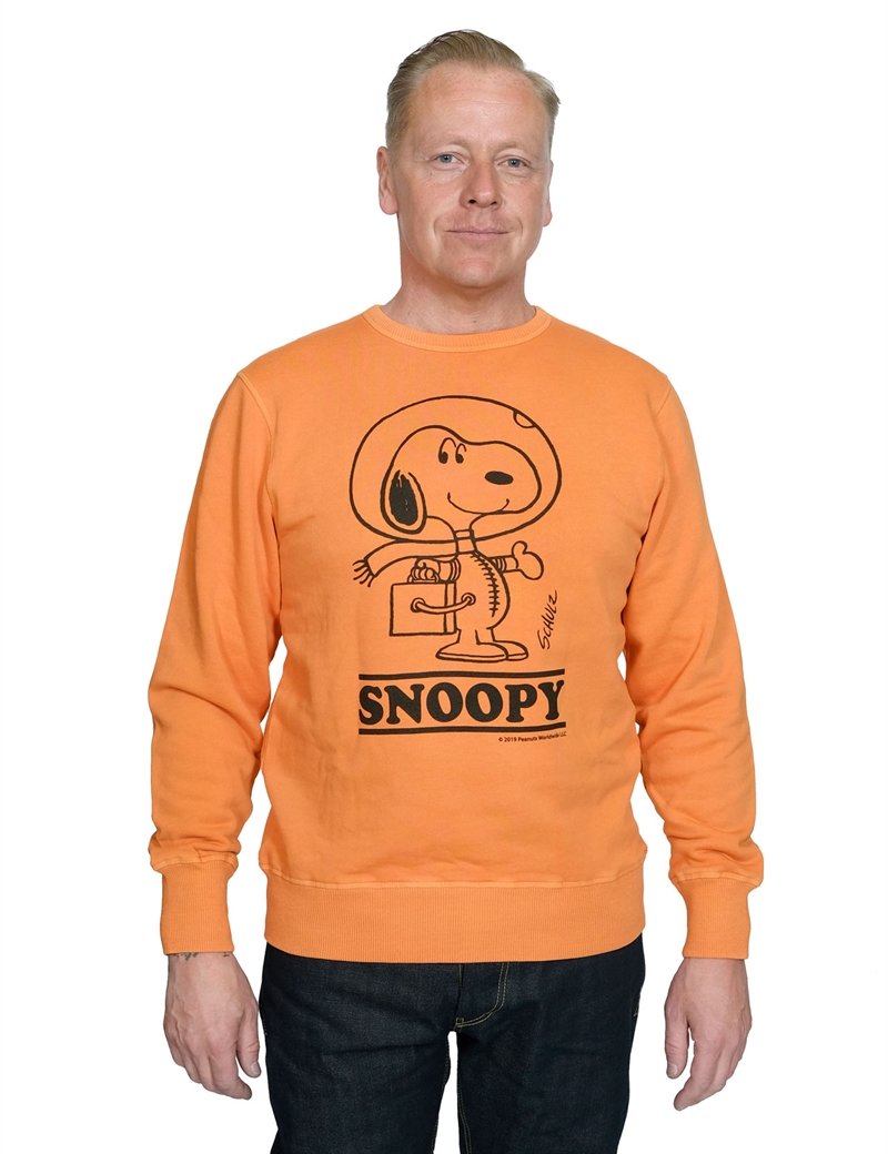 TSPTR - Astro Snoopy Sweater - Washed Orange