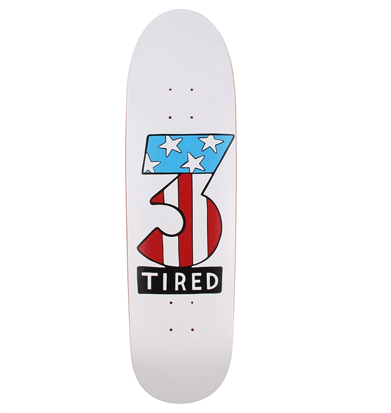 Tired---Number-Three-Skateboard-Deck---8.75-1