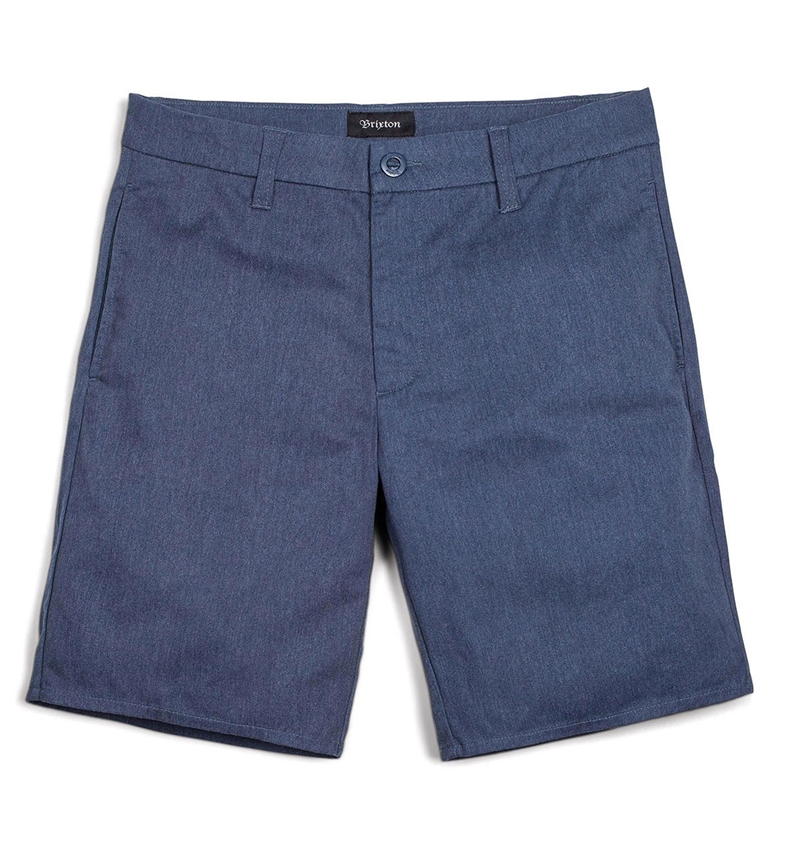 Brixton - Carter Chino Shorts - Heather Navy