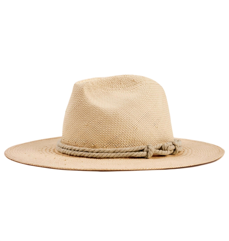 Brixton - Ellington Fedora Hat - Tan