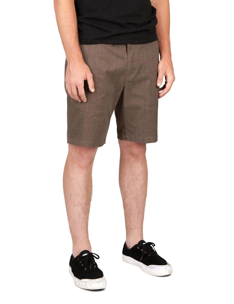 Brixton - Murphy Chino Shorts - Heather Brown
