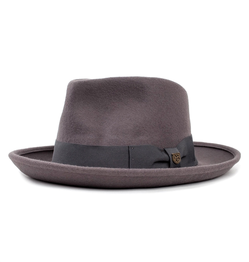 Brixton - Swindle Fedora Hat - Cement