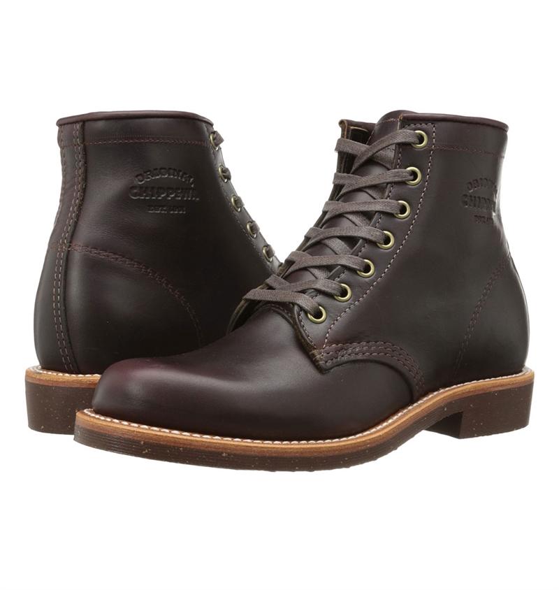 Chippewa General Utility Service Boots Cordovan