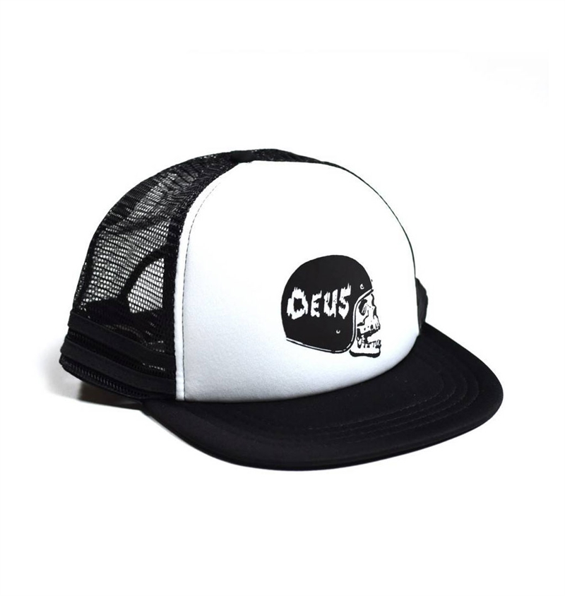 deus-skull-trucker-cap-black-white