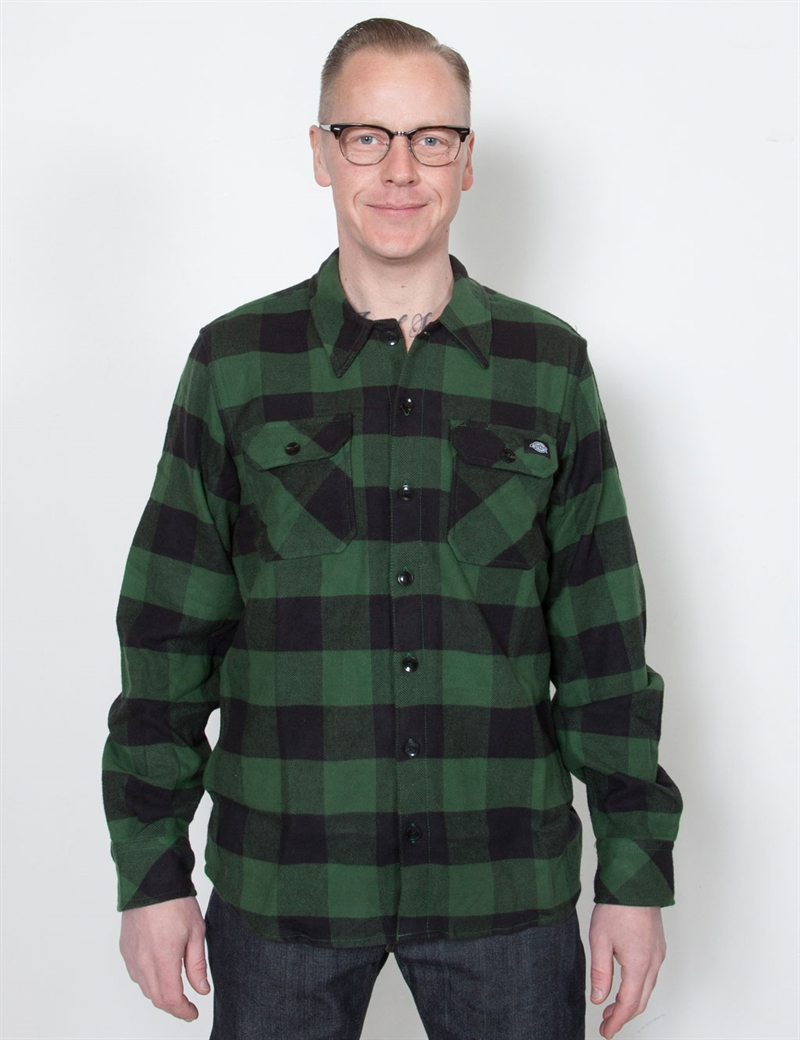 dickies_sacramento_flannel_pine_green_12
