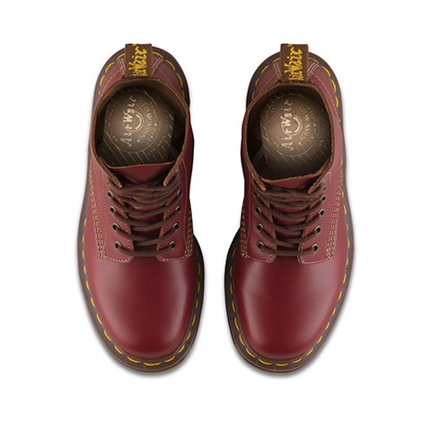 e2f2263cb16 Dr Martens - 1460 Vintage Made In England - Oxblood Quilon