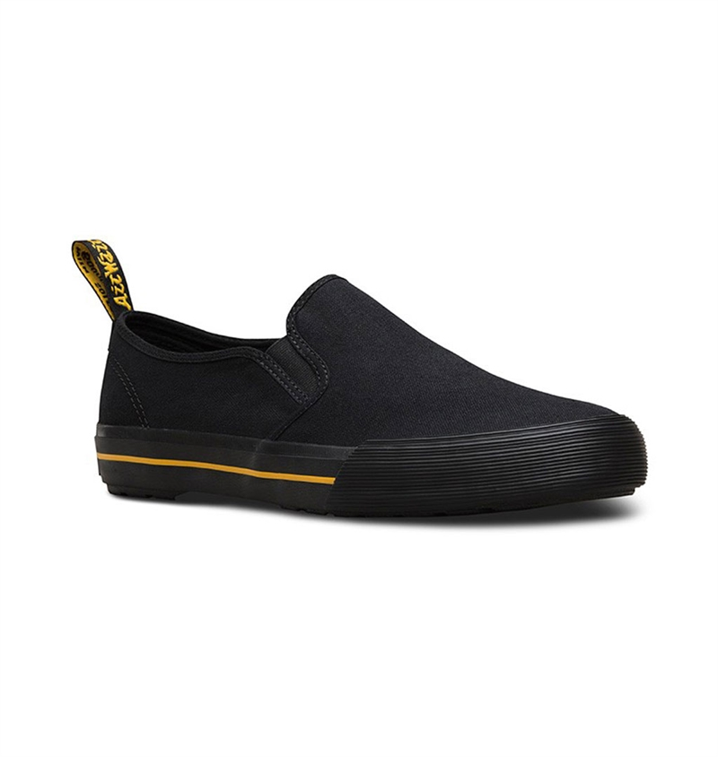 Dr Martens - Toomey Slip-On Canvas Sneaker - Black
