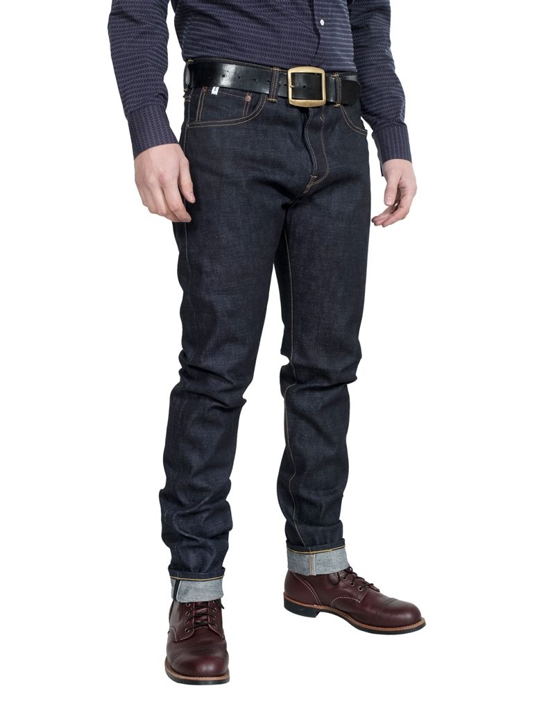 Edwin - Classic Regular Tapered Rainbow Selvage Denim - Raw State 13,5 oz
