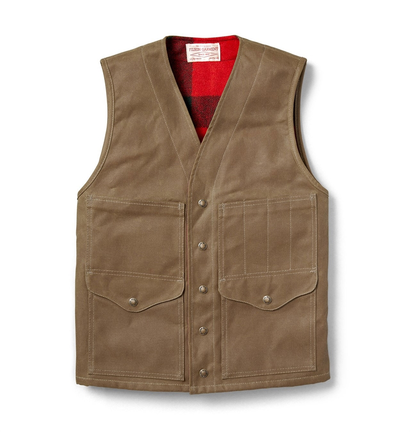 Filson - Lined Cruiser Vest - D Tan