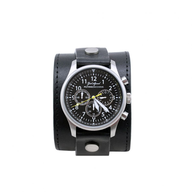 flying-z-god-speed-watch-with-leather-wrist-strap-black-black-1