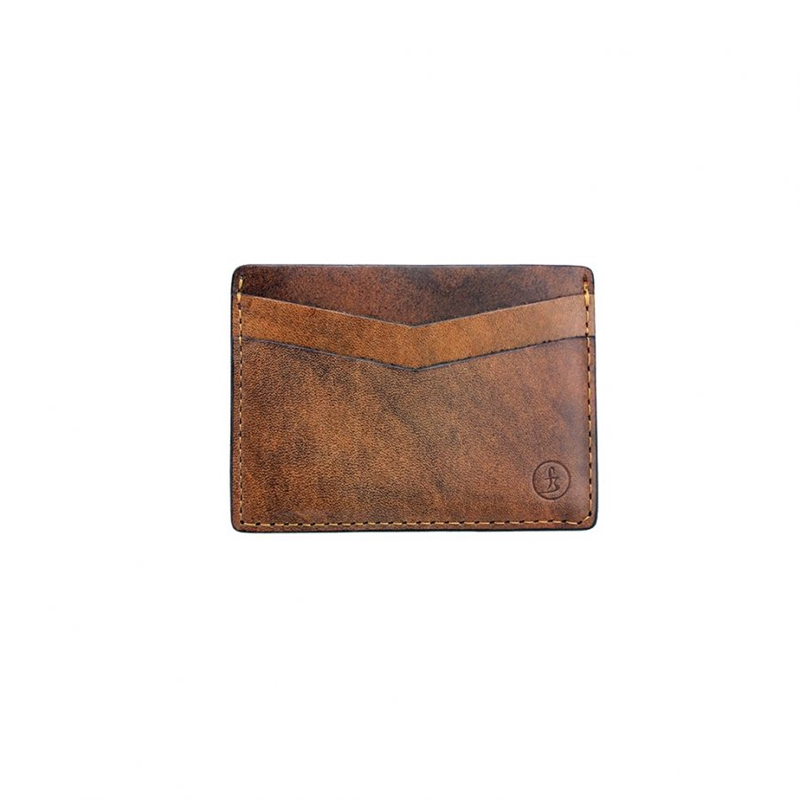 Flying Zacchinis - Haynes Card Holder - Honey Brown