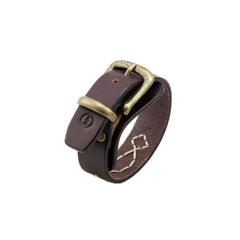 Flying Zacchinis - Viper Narrow Wristband - Brown