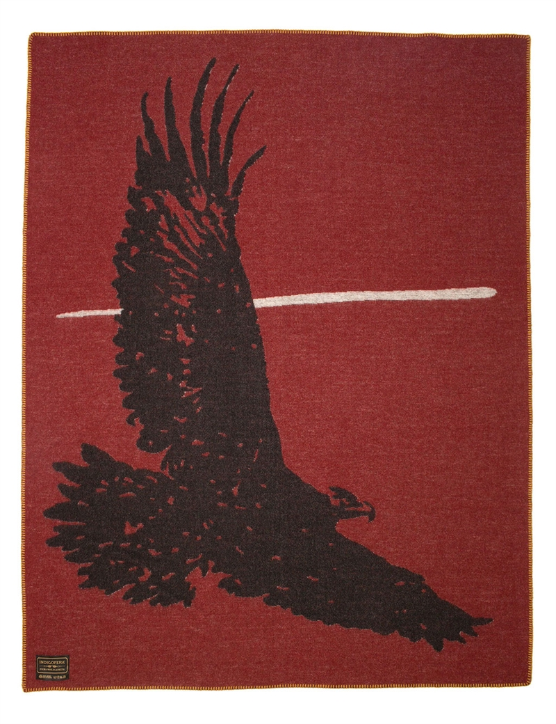 Indigofera  - Eagle Wool Blanket