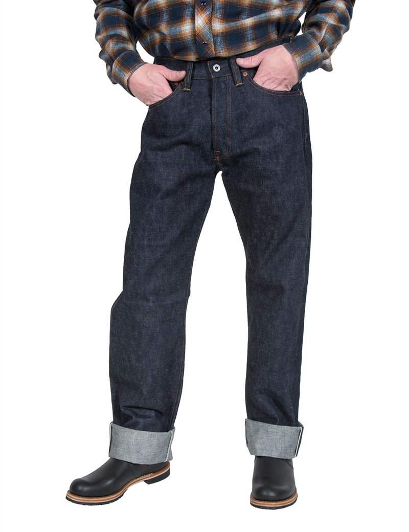 Indigofera - Kirk Fabric No.2 Raw Selvage Jeans STPF 16oz
