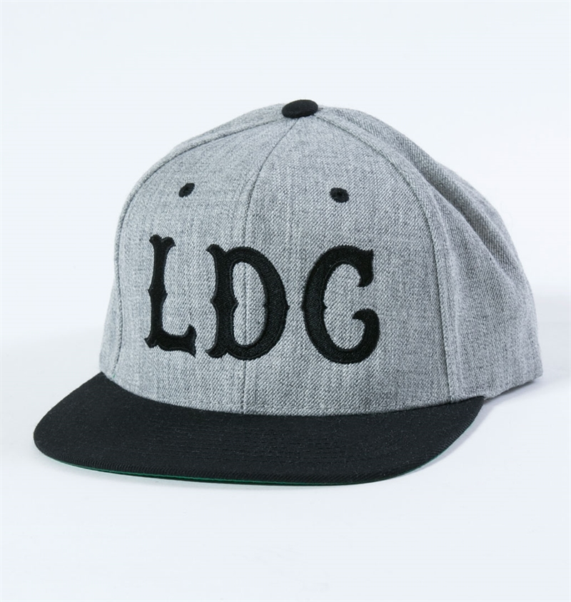 Ldc - Easy Way Out Snap Back - Heather Grey