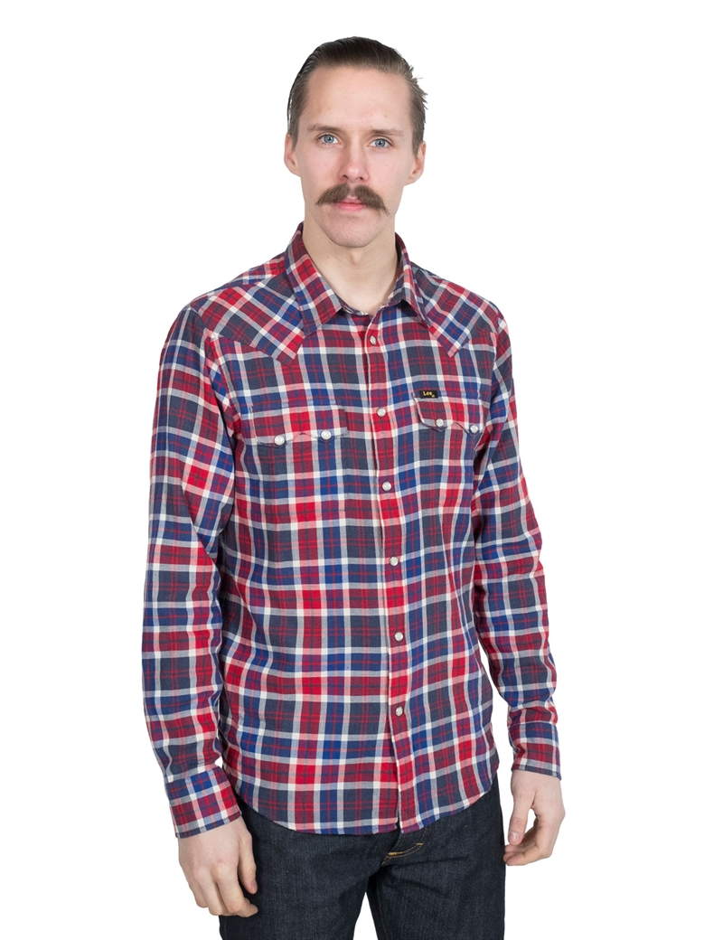 Lee - 101 Rider Shirt - Haute Red
