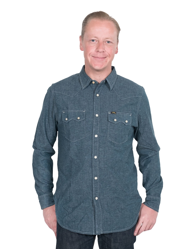 lee101-rider-shirt-specled-rinse-012345