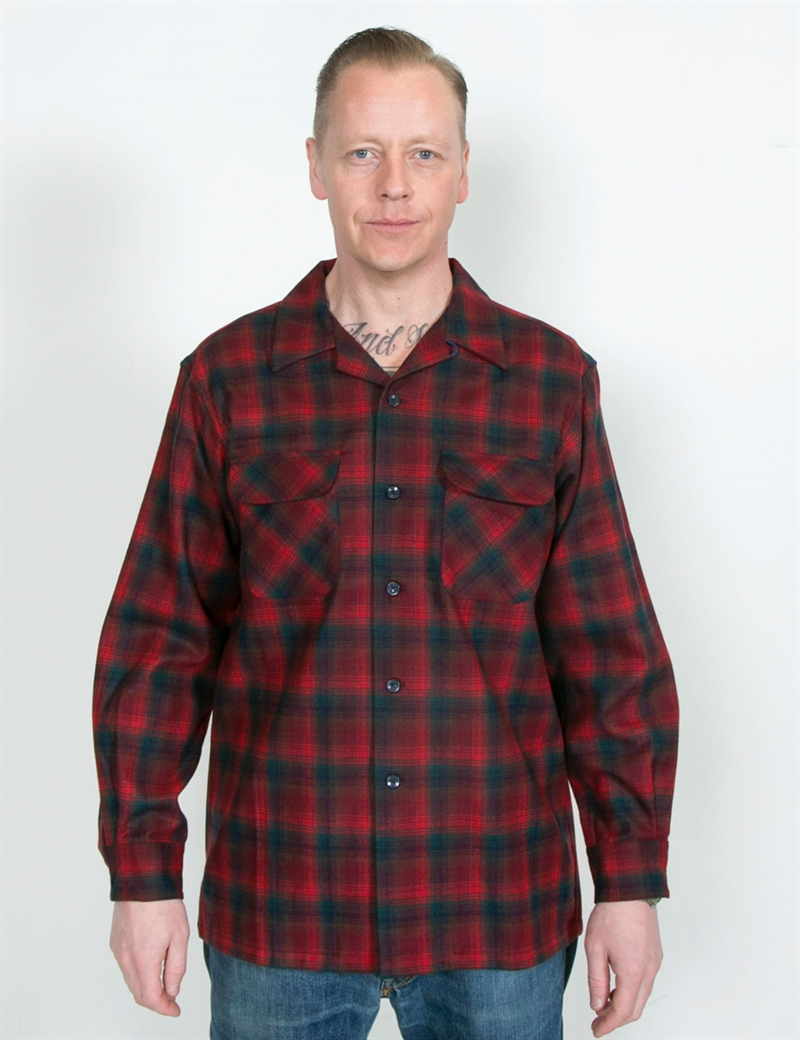 pendleton_borad_shirt_red_burgundy_ombre_12