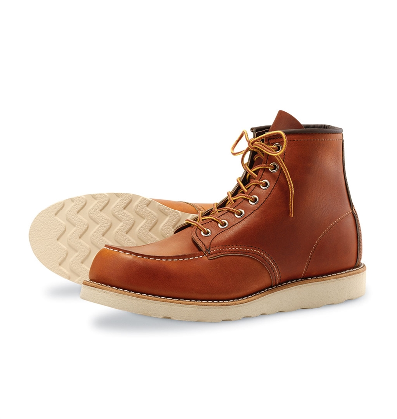 Red Wing Shoes 875 6-inch Classic Moc Toe - Oro Legacy
