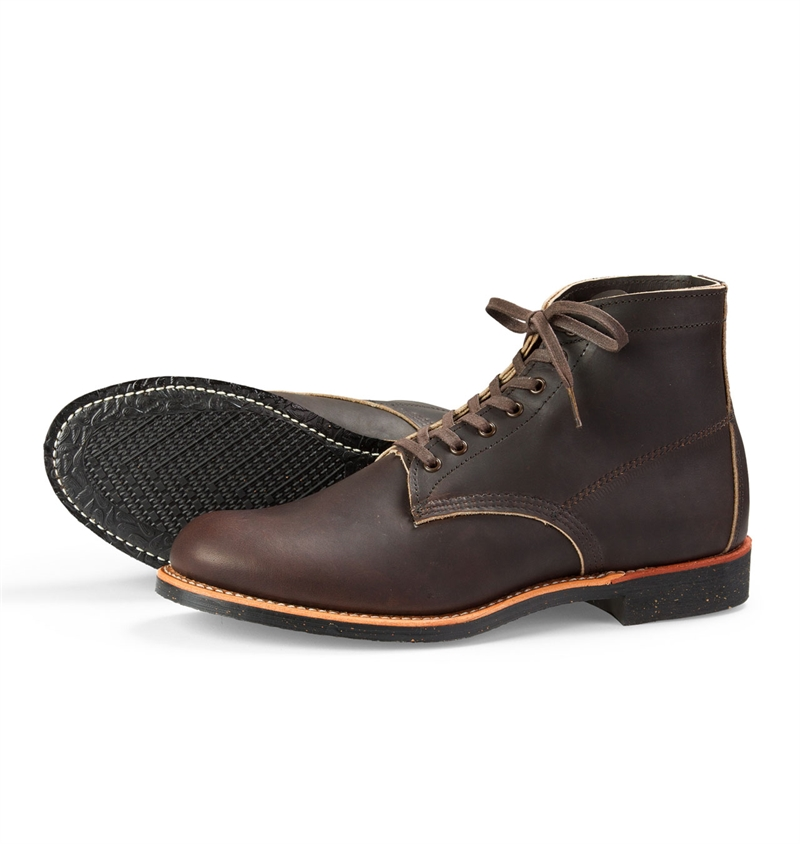Red Wing Shoes Style No 8061 6-Inch Merchant - Ebony Harness Leather