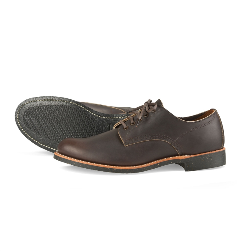 Red Wing Shoes 8044 Merchant Oxford Ebony Harness