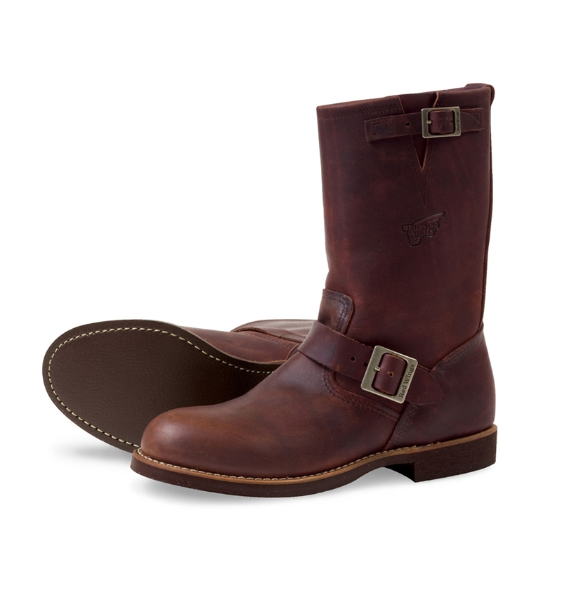 Red Wing Shoes 2991 Engineer Boot - Amber