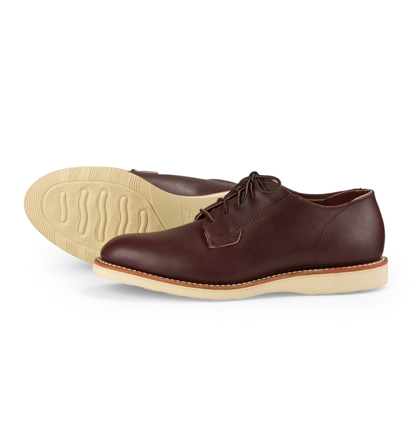 Red Wing Shoes 3117 Postman Oxford - Oxblood Mesa