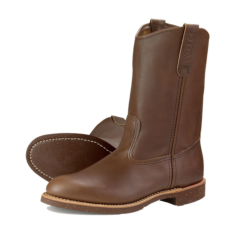 Red Wing Shoes . 8187 Pecos - Brown Boomer
