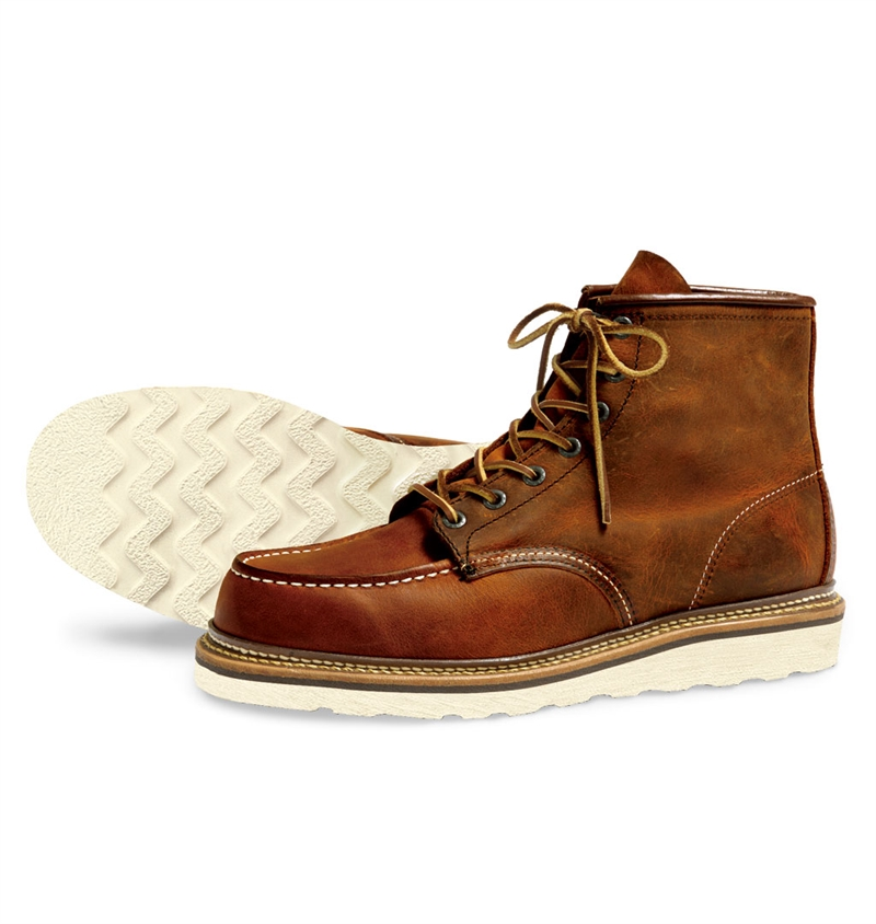Red Wing Shoes 1907 Classic Moc Toe - Copper