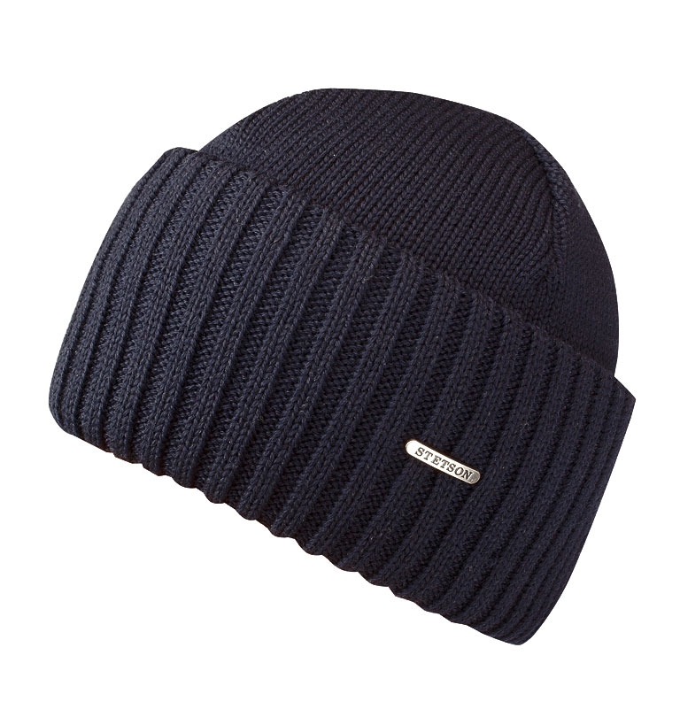 8861831ae13 Stetson - Northport Wool Beanie - Navy